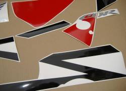 Honda 954RR 2002 Fireblade black stickers set