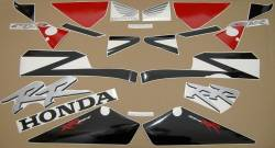 Honda CBR 954RR 2002 Fireblade stickers kit