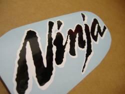 Kawasaki 250R 2007 Ninja silver stickers