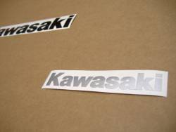 Kawasaki 250R 2007 Ninja silver decals kit