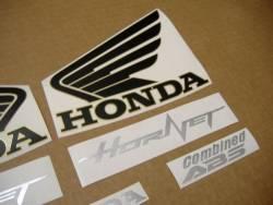 Honda CB600F 2013 Hornet blue decals