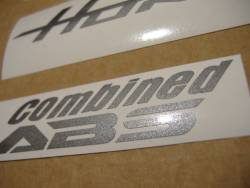 Honda CB600F 2011 black reproduction stickers