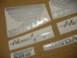 Honda CB 600F 2011 Hornet black stickers
