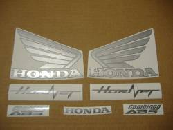 Honda CB 600F 2011 Hornet black decals kit