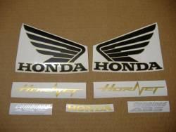 Honda 600F 2012 Hornet black logo graphics
