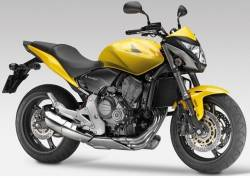 Honda CB 600F 2012 Hornet yellow stickers