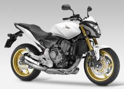 Honda CB600F 2013 Hornet white decals