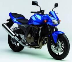Kawasaki Z750 2004 complete sticker kit