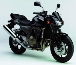 Kawasaki Z 750 2005 black decals