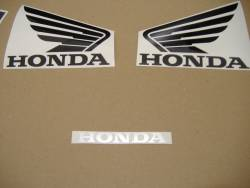 Honda CBR 1000RR 2004 SC57 red decals kit