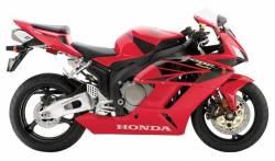 Honda 1000RR 2004 Fireblade red labels graphics
