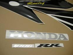 Honda 1000RR 2004 Fireblade red decal set