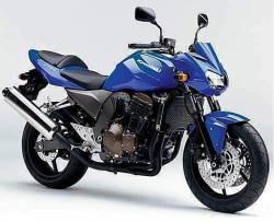 Kawasaki Z 750 2005 blue stickers kit