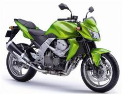 Kawasaki Z750 2007 green decals kit