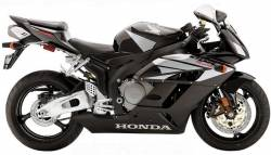 Honda 1000RR 2004 Fireblade black decal set