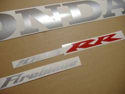 Honda 1000RR 2004 SC57 black adhesives set