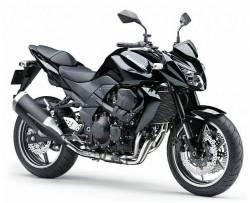 Kawasaki Z 750 2011 black full decals kit