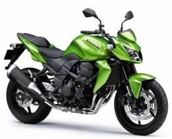 Kawasaki z750 2011 2012 green adhesives set