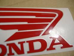 Honda CBR 1000RR 2005 SC57 black decals kit