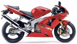 Kawasaki ZX-6R 2003 complete sticker kit