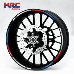 wheel rim stripes decals stickers honda cbr 250r 600rr 125r hrc racing