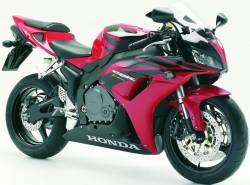 Honda 1000RR 2006 Fireblade black decal set