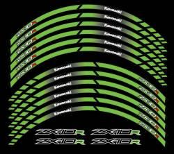 wheel rim stripes decals stickers kawasaki ninja zxr racing zx-10r
