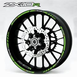 wheel rim stripes decals stickers kawasaki ninja zx6r zx10r zx12r