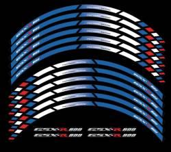 wheel rim stripes decals stickers suzuki gsxr 600
