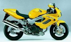 Honda vtr 1000f 2001 yellow complete sticker kit