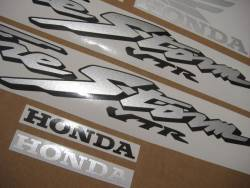 Honda VTR 1000F 2002 blue stickers kit