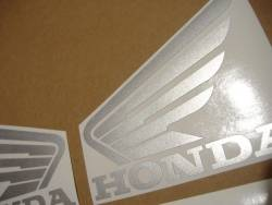 Honda 1000F 2002 Firestorm blue stickers set