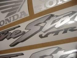 Honda 1000F 2003 black complete sticker kit
