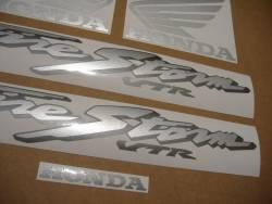 Honda 1000F 2003 Firestorm black logo graphics