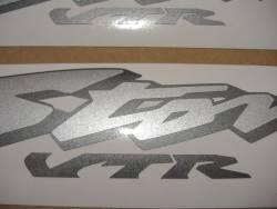 Honda VTR 1000F 2003 matte black labels graphics