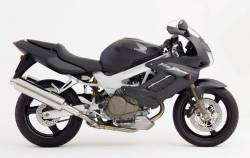 Honda 1000F 2003 matte black full decals kit