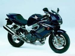 Honda 1000F 2004 Firestorm blue decals
