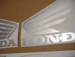 Honda VTR 1000F 2004 Firestorm blue stickers