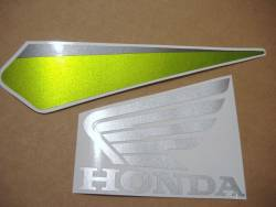 Honda CBR 600RR 2009 green stickers
