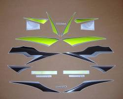 Honda  CBR 600RR 2009 green decals