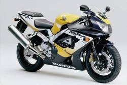 Honda 929RR 2001 yellow complete sticker kit