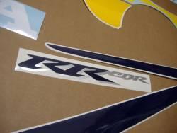 Honda CBR 929RR 2001 yellow decals kit