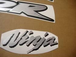 Kawasaki ZX-12R 2005 Ninja custom decals