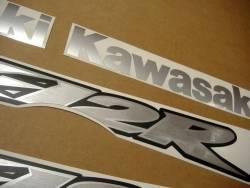 Kawasaki ZX12R 2000 Ninja custom decals kit