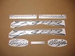 Kawasaki ZX 12R 2002 custom full decals kit