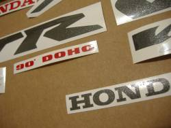 Honda vtr 1000f 1998 Firestorm yellow stickers set