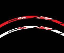 wheel rim stripes decals stickers honda cbr 1000rr fireblade sc57 sc59 hrc racing