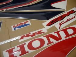 Honda 1000RR 2007 Fireblade SC57 HRC stickers