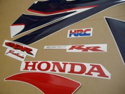 Honda 1000RR 2007 Fireblade HRC labels graphics