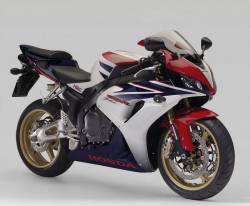 Honda 1000RR 2007 Fireblade HRC decal set